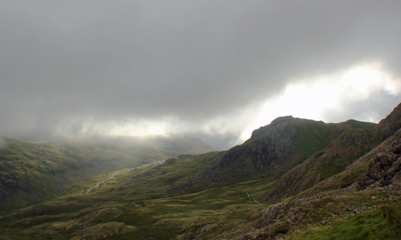 View from Snowdon Mountain